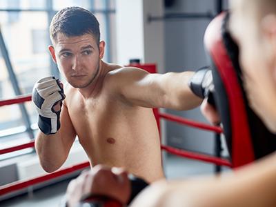 boxing kikckboxing muay thai personal trainer md